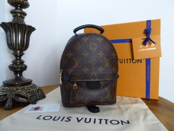 Louis Vuitton Palm Springs Mini Backpack in Monogram - New