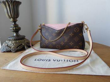 Louis Vuitton Pallas Clutch in Monogram Rose Ballerine