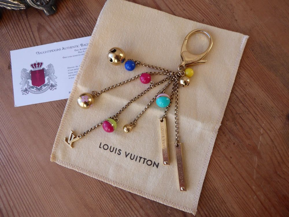 Louis Vuitton Bells and Baubles Bag Charm Keychain Bag Charm