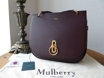 Mulberry Amberley Satchel in Oxblood Grain Vegetable Tanned Leather  - SOLD