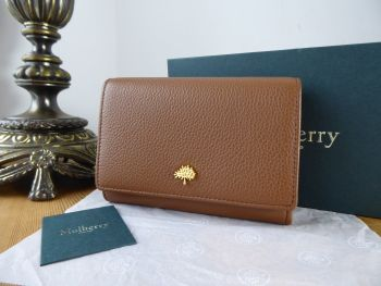 Mulberry Tree French Purse Wallet in Oak Small Classic Grain - SOLD