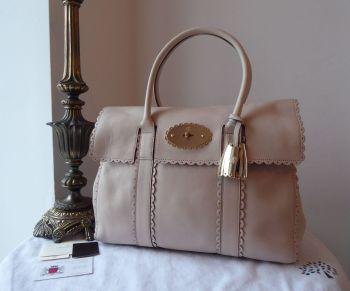 Mulberry Cookie Bayswater in Pebbled Beige Soft Matte Leather - SOLD