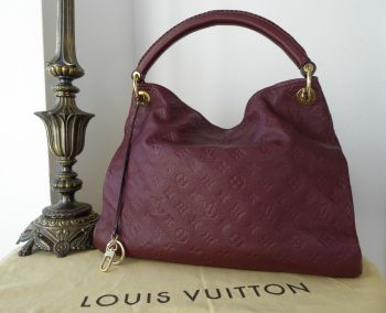 Louis Vuitton Artsy MM in Monogram Empreinte Flamme