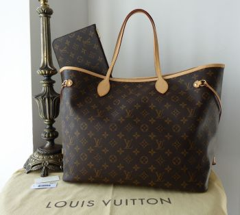 Louis Vuitton Neverfull GM in Monogram Fuchsia - SOLD