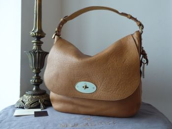 Mulberry Postmans Lock Hobo in Deer Brown Buffalo Shine Leather - SOLD