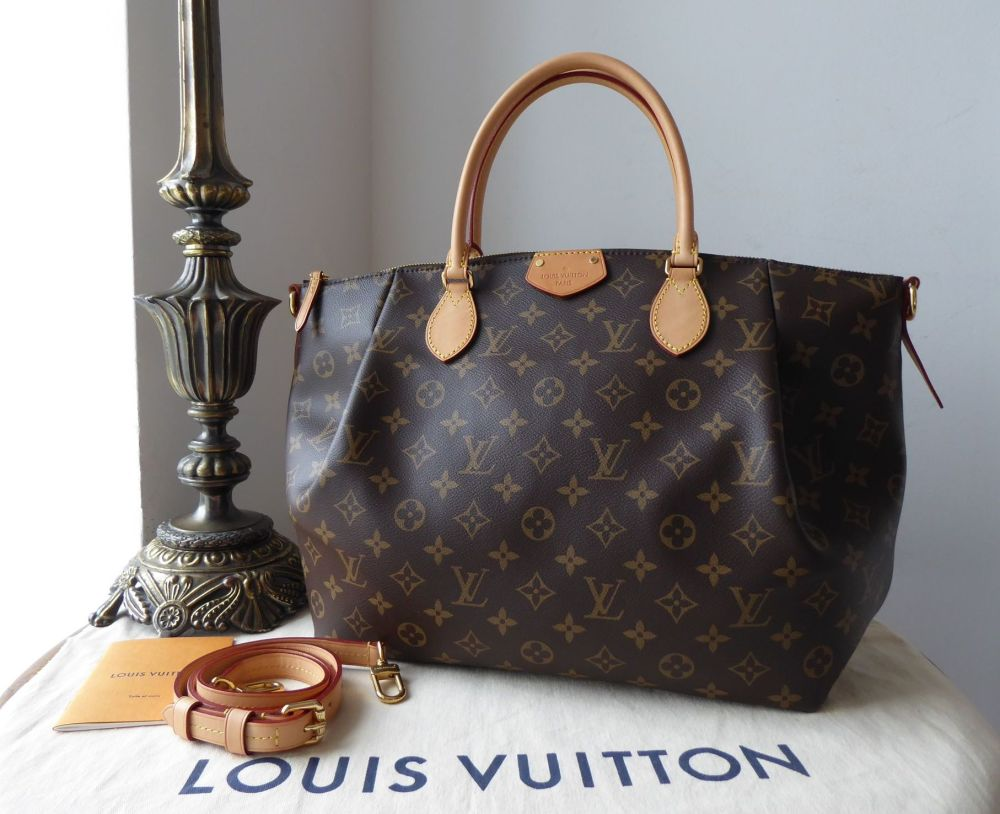 Louis Vuitton Turenne GM in Monogram Vachette