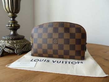 Louis Vuitton Cosmetic Pouch in Damier Ebene