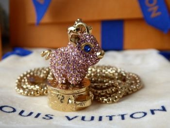 Louis Vuitton Vuittonite Year of the Pig Pendant Necklace