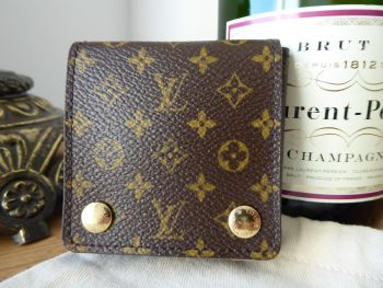Louis Vuitton Small Jewelry / Jewellery Pouch in Monogram