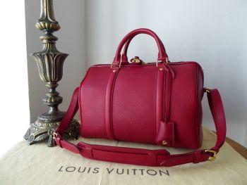 Louis Vuitton Sofia Coppola SC Bag PM in Cherry Veau Cachemire