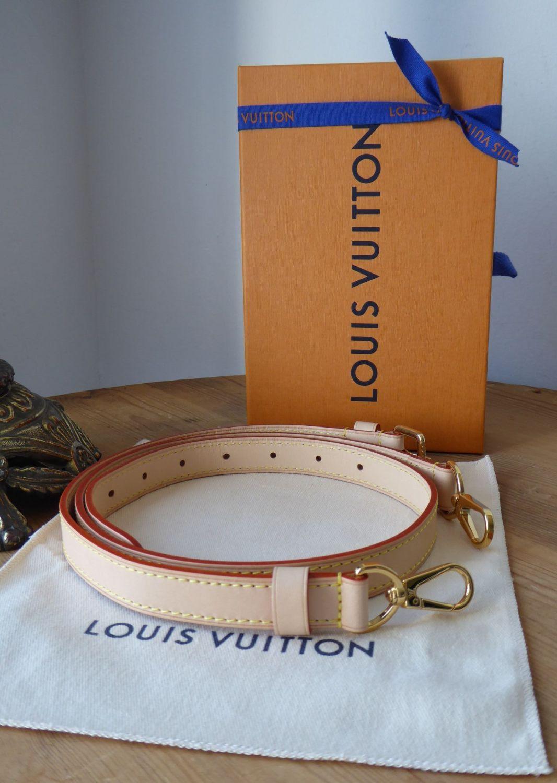 Louis Vuitton Bi Part Adjustable Shoulder Strap in Calfskin Vachette
