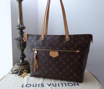 Louis Vuitton Iéna MM in Monogram Vachette