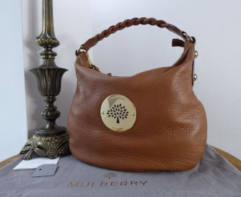 Mulberry Daria Medium Hobo in Oak Spongy Pebbled Leather