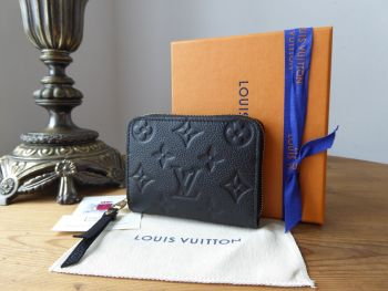 Louis Vuitton Zippy Coin Purse in Empriente Monogram Noir