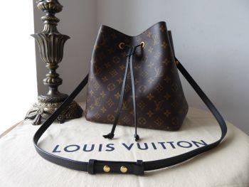 Louis Vuitton NéoNoé in Monogram Noir - As New*