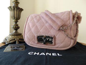 Chanel Ultra Soft Shearling Lambskin Shoulder Flap Hobo