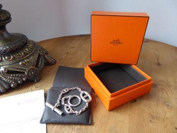 Hermès Farandole Sterling Silver Bracelet
