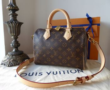 Louis Vuitton Speedy Bandoulière 25 in Monogram Vachette - New
