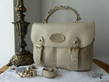 Mulberry Trout Satchel in Pear Sorbet Soft Large Grain Leather - As New