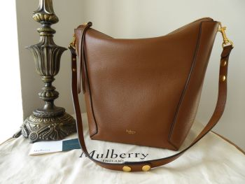 Mulberry Camden in Oak Small Classic Grain Leather  - New