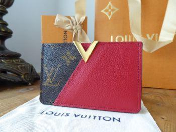 Louis Vuitton Kimono Card Slip Case in Monogram Cerise