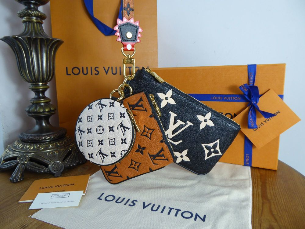 Louis Vuitton Crafty Trio Pouch As New