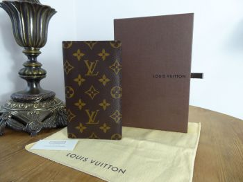 Louis Vuitton Pocket Agenda Cover in Monogram Canvas