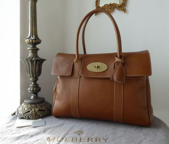 Mulberry Classic Heritage Bayswater in Oak Natural Vegetable Tanned Leather - As New*