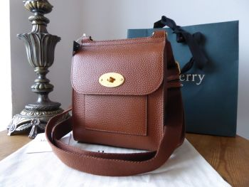 Mulberry Small Antony in Oak Grained Vegetable Tanned Leather - New*