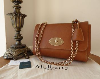 Mulberry Medium Lily in Oak Natural Vegetable Tanned Leather - New