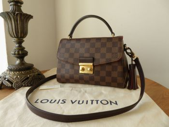 Louis Vuitton Croisette in Damier Ebene