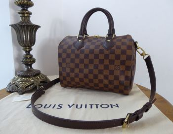 Louis Vuitton Speedy Bandouliere 25 in Damier Ebene - New*