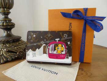 Louis Vuitton Limited Edition Victorine Wallet Vivienne Courcheval 2019 Christmas Animation Collection