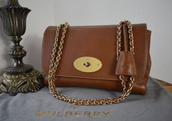 Mulberry Medium Lily in Oak Natural Vegetable Tanned Leather