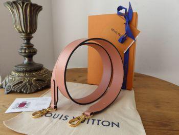 Louis Vuitton Bandouliere Shoulder Strap in Vieux Rose Calfskin
