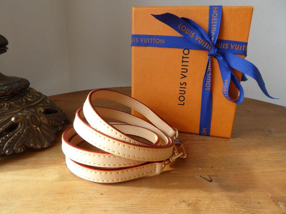 Louis Vuitton Shoulder Strap VVN in Natural Calfskin Vachette - As New