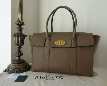 Mulberry Coca Bayswater in Clay Small Classic Grain Leather