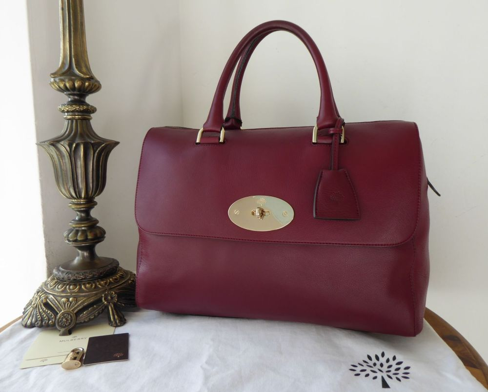 Mulberry Del Rey in Black Forest Soft Matte Leather