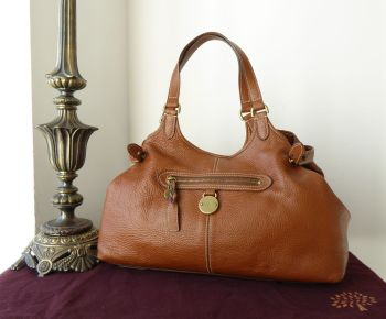 Mulberry Somerset Shoulder Tote in Oak Pebbled Leather