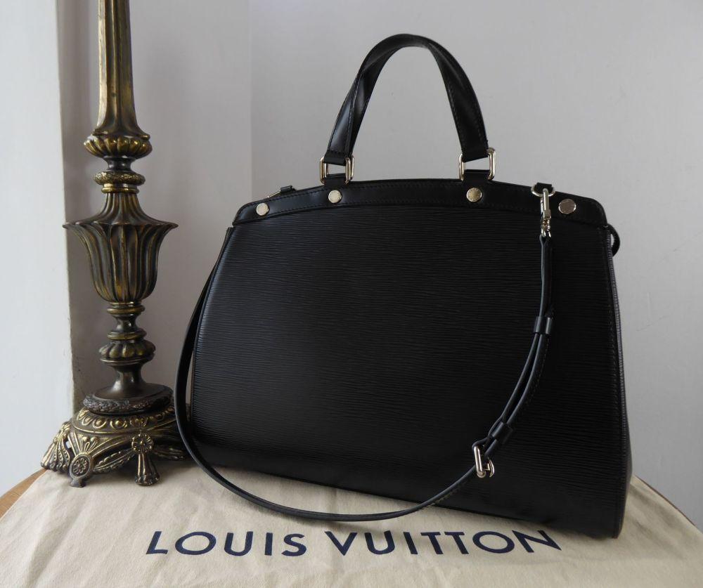 Louis Vuitton Brea GM Zip Tote in Epi Noir
