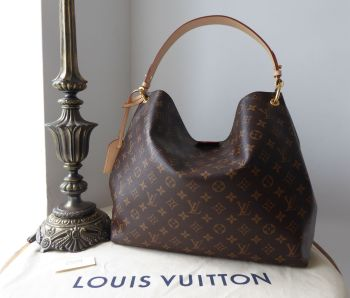 Louis Vuitton Graceful MM in Monogram Beige - New*