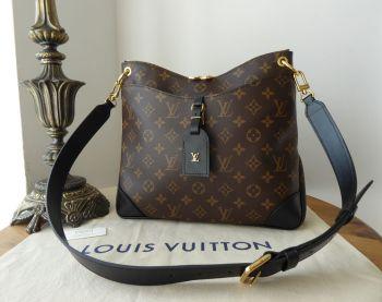 Louis Vuitton Odéon MM in Monogram Noir - As New