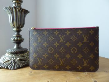 Louis Vuitton Slim Zip Pouch in Monogram Pivoine Pink