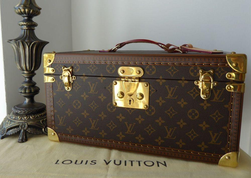 Louis Vuitton Beauty Case with Mirror Vanity Trunk Boite Bouteilles et Glac