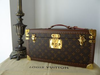 Louis Vuitton Beauty Case with Mirror Vanity Trunk Boite Bouteilles et Glace in Monogram Vuittonite
