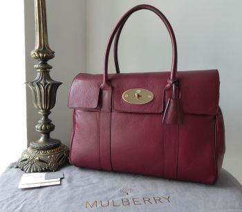 Mulberry Classic Heritage Bayswater in Black Forest Soft Matte Leather