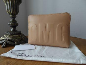 3.1 Phillip Lim 31 Second OMG Clutch Bag Zip Pouch in Nude Calfskin - SOLD
