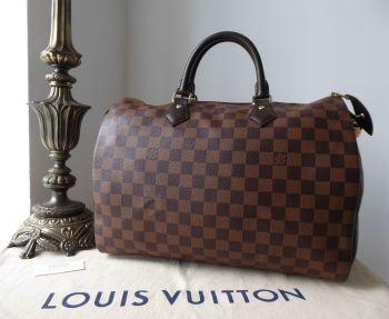 Louis Vuitton Speedy 35 in Damier Ebene