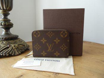 Louis Vuitton Small Zippy Coin Card Purse in Monogram