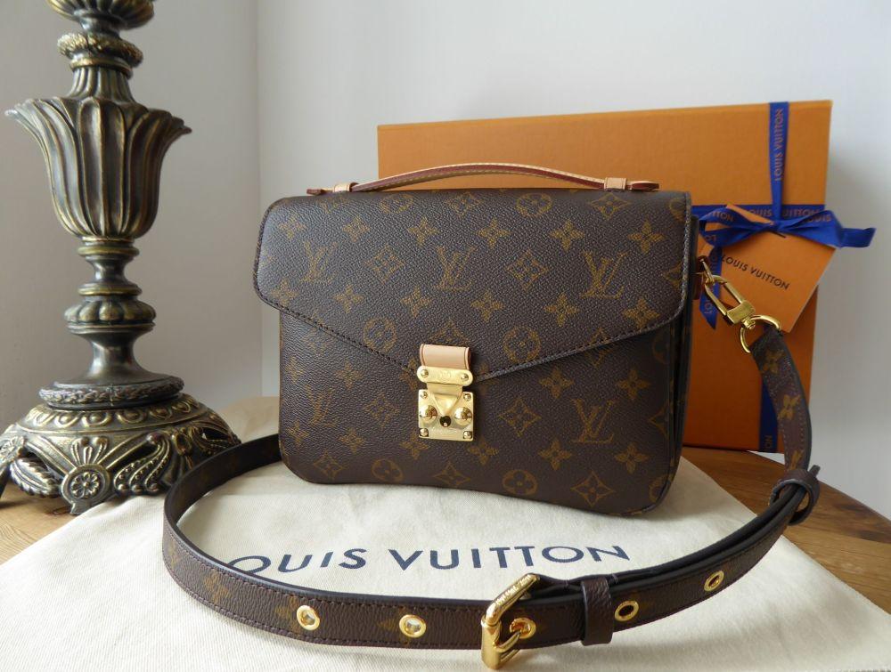 Louis Vuitton Pochette Métis in in Monogram Vachette